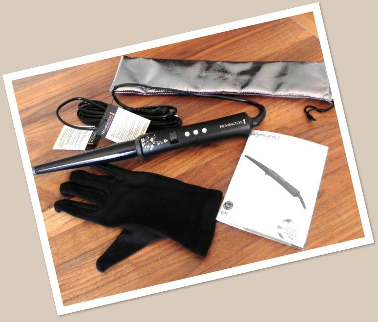 eingetrudelt remington ci95 profi lockenstab pearl wand. Black Bedroom Furniture Sets. Home Design Ideas