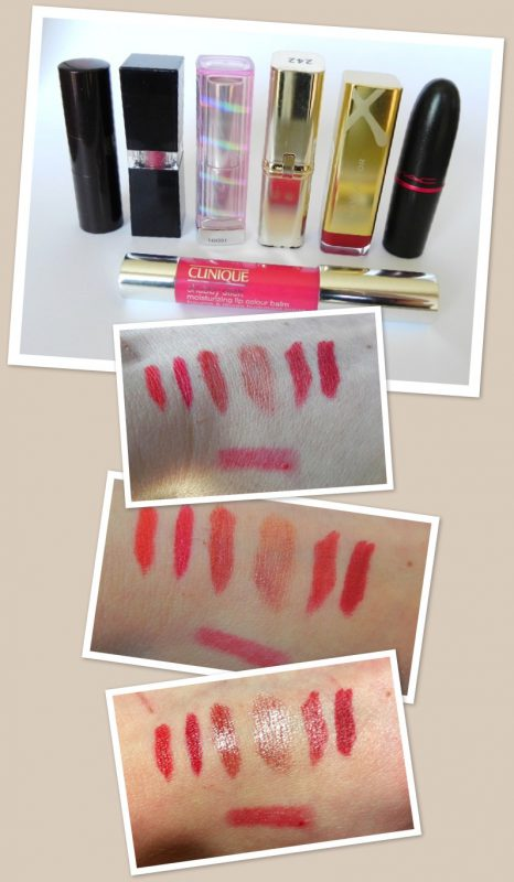 Red Beauties – Rote Lippenstifte