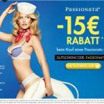 [Aktion] Passionata Sets 15 Euro günstiger