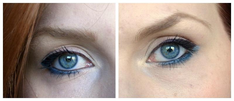 I'm so blue: Blue Eye(shadow)