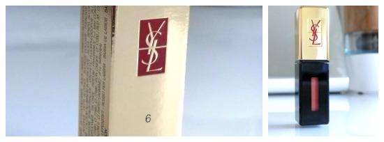 Yves Saint Laurent – Vernis à Lèvres Nr. 6 Camel Croisière
