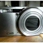Ein neuer BlogMitarbeiter: die Ricoh CX6