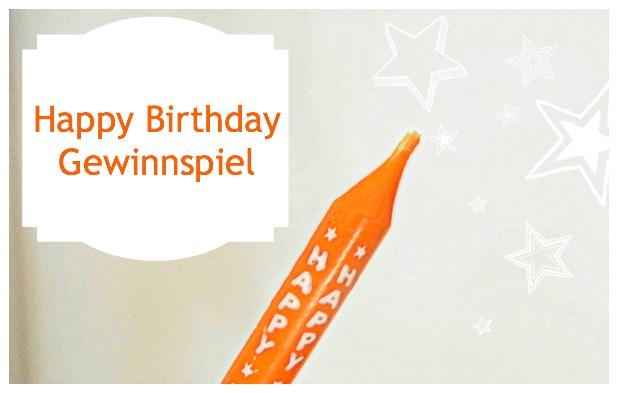 [Gewinnspiel] Happy Birthday