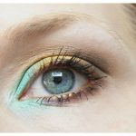 Nachgeschminkt: Trendy Mint Green & Gold Smokey Eye