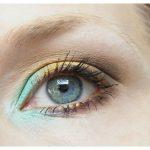 Nachgeschminkt: Trendy Mint Green & Gold Smokey Eye