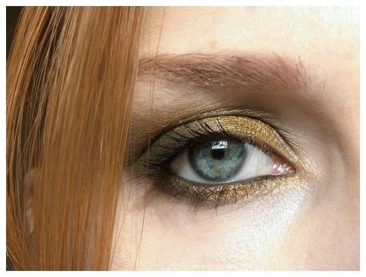 """Herbst auf den Augen """"Grün & Gold"""""""