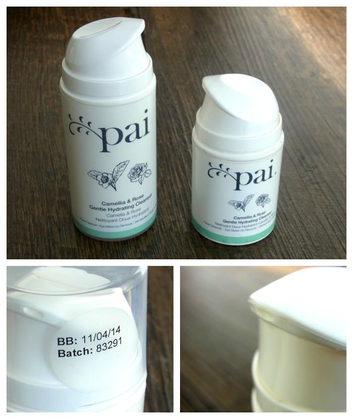 Pai Skincare Camellia & Rose Gentle Hydrating Cleanser Verpackung