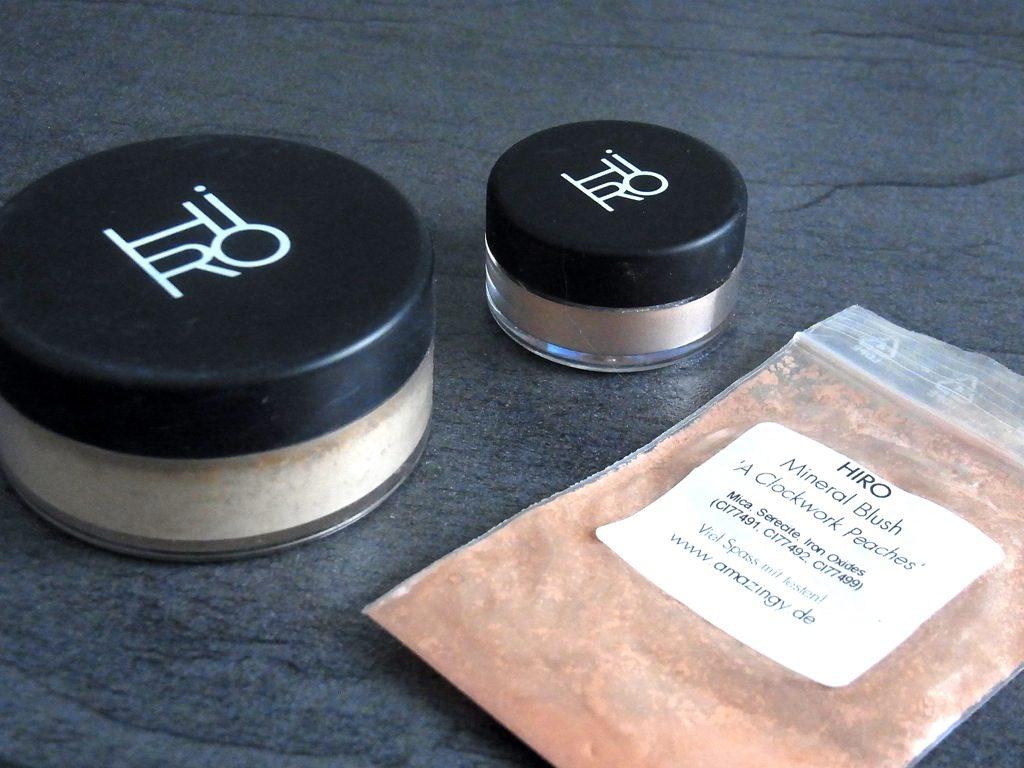 Hiro Foundation & Eyeshadow & Blush