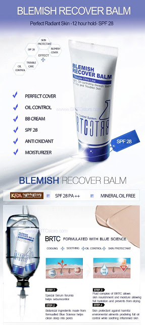 >BB-Cream Review 2 – BRTC Trouble Blemish Recover Balm