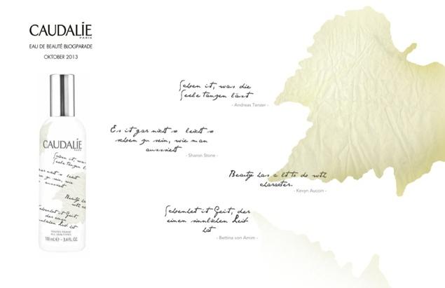 Caudalie Blogparade – Eau de Beauté Design