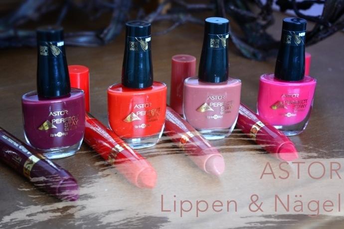 Astor Matching<br /> Lipcolor Butter & Nagellack