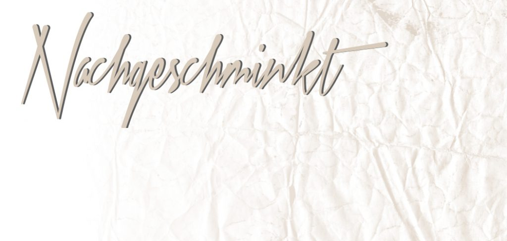Nachgeschminkt August 2014 <br/> Blogparade