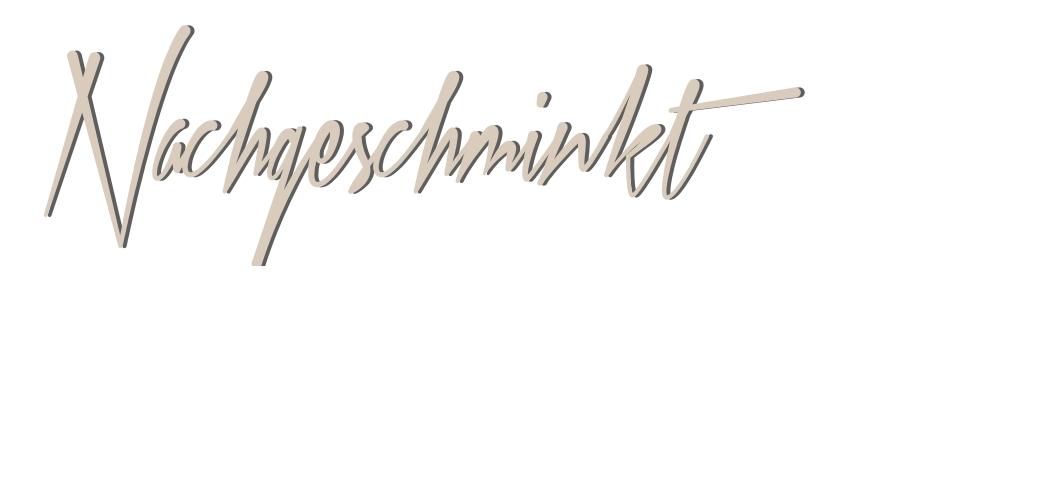 Grafik - Nachgeschminkt 2014