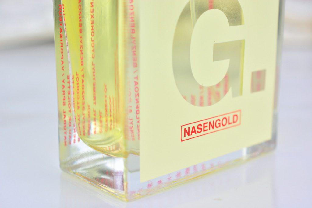 Grapefruit küsst Leder : NASENGOLD G.