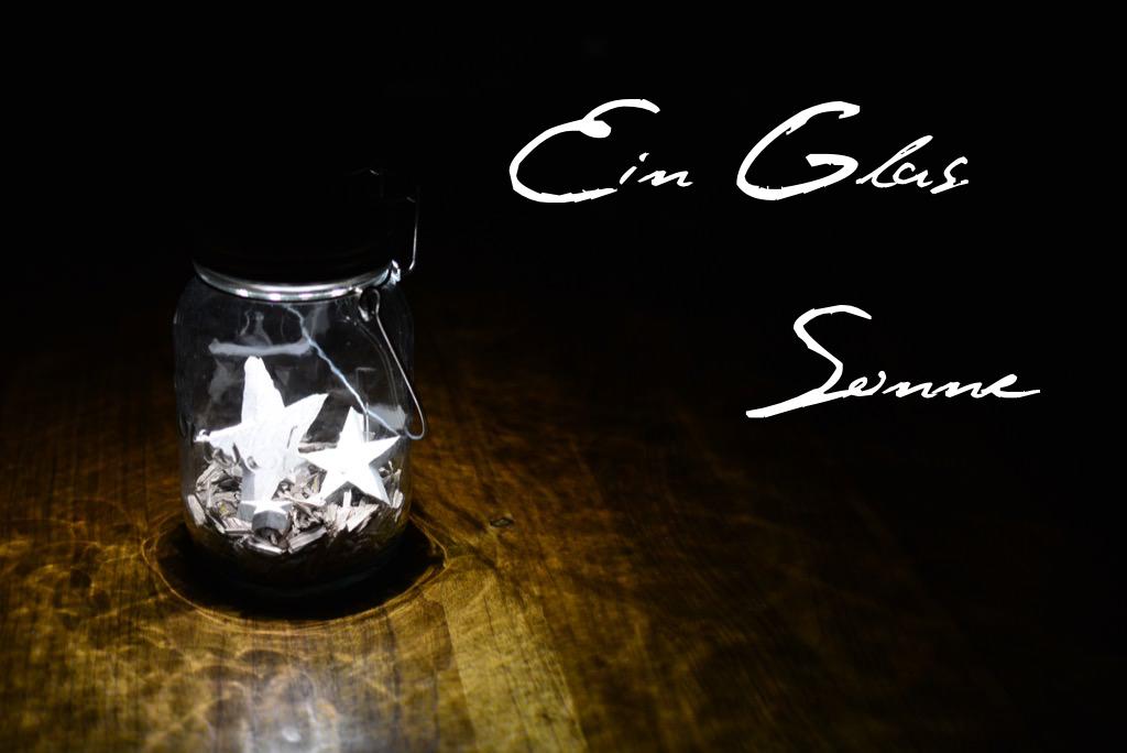 Ein Glas Sonne Sonnenglas