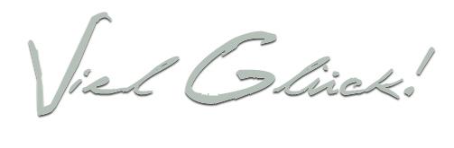 Grafik - Viel Glück Banner