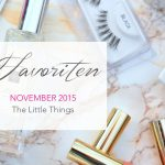 Favoriten</br> November 2015