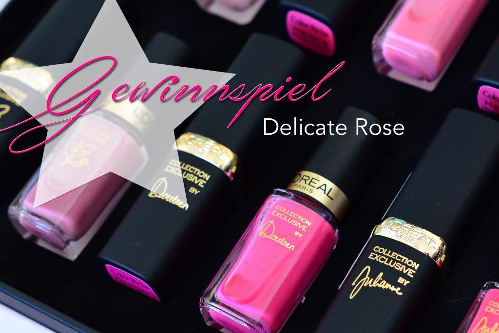 La Vie en Rose </br> L'Oréal Paris Delicate Rose Edition
