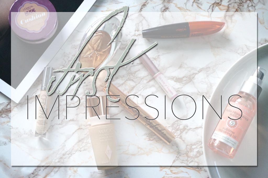 First Impressions </br>&#8211; Teint, Haar, Duft &#038; Augen &#8211;
