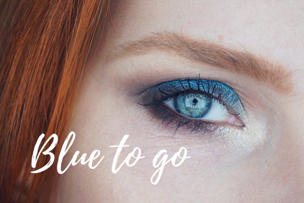 – Blue To Go – </br> Blauer Lidschatten für alltägliche und besondere Anlässe