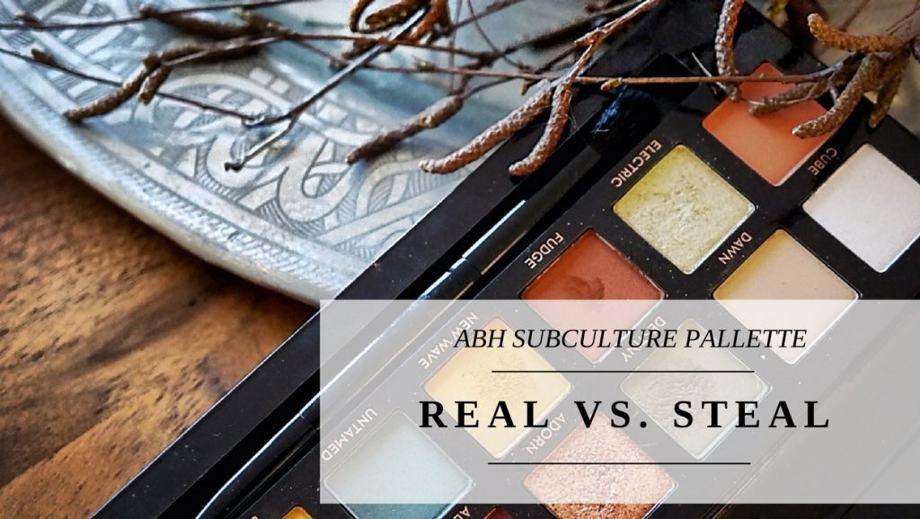 "– Real vs. ""Steal"" – </br> ABH SUBCULTURE"