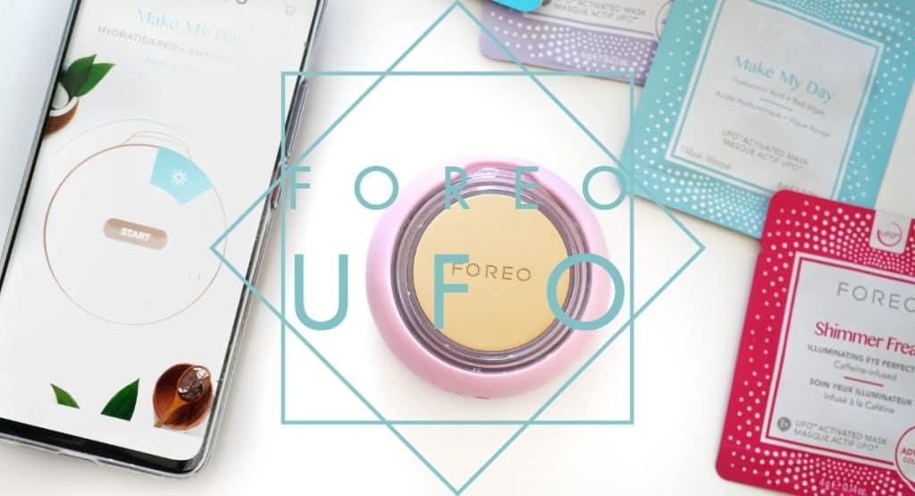 """Eine """"Handvoll"""" Hautpflege – FOREO UFO™ –"""