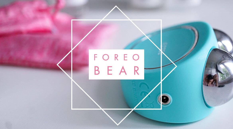 FOREO BEAR Teil 1</br> -Ein Microcurrent Teddy fürs Jungbleiben-